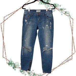 one teaspoon x freebirds short rise rigid jeans 27